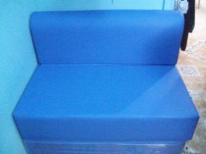 Sofa cama inflable 1 persona posot class for Sofa cama espuma 1 plaza