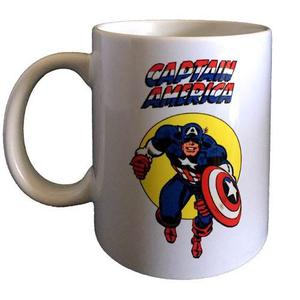 Taza Mug 11oz Capitán América  - Marvel Comics