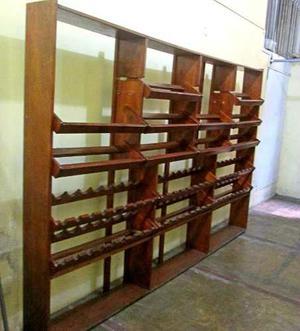 Porta vinos de madera en lima peru posot class for Mueble bodega