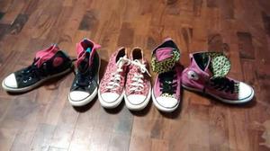 Lote Zapatillas Converse Mujer