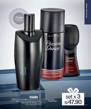 Perfume Passion Dance,for Men Avon ¡super Oferta!