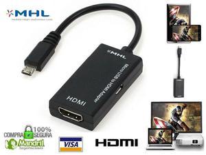 Cable Adaptador Micro Usb Mhl A Hdmi Samsung Htc Lg Sony