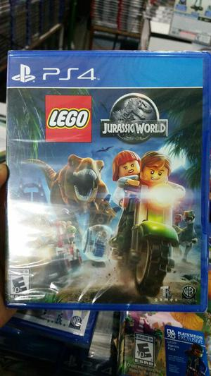 Lego Jurassic World Ps4 Nuevo Sellado