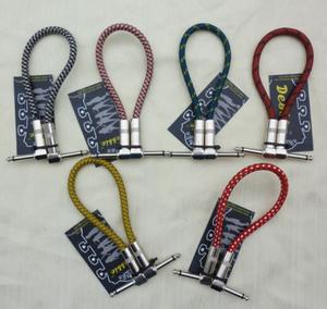 Cable Plug Pedales Malla Anti Ruido Blindaje Plug Metal New!