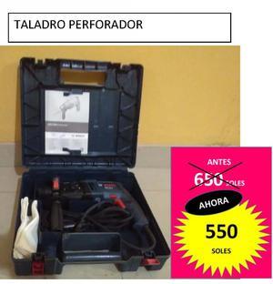 Vendo Taladro Perforador Bosch GBH 220D rotomartillo