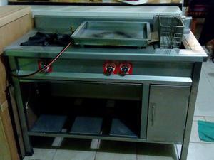 Cocina industrial en acero inox lima callao posot class - Mesa de trabajo cocina ...
