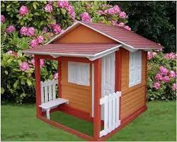 casas de niños de madera