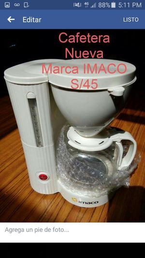 Cafetera Nueva Imaco en Remate