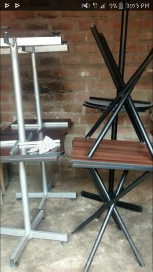 Mesas con 4 sillas marca ikasa posot class - Sillas para bar ...