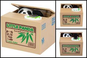 Boxstore] Alcancía De Panda Come Monedas