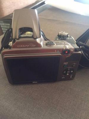 Camara Fotografica Nikon Coolpix L120 (filmadora De Regalo)