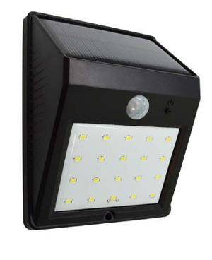 LAMPARA LED FOCO SOLAR CON SENSOR DE MOVIMIENTO IGUAL MODELO