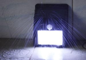 LED FOCO LAMPARA SOLAR SENSOR DE MOVIMIENTO IMPERMIABLE