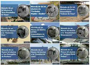 Monedas Riquezas Y Orgullo Y Recursos Naturales Del Perú