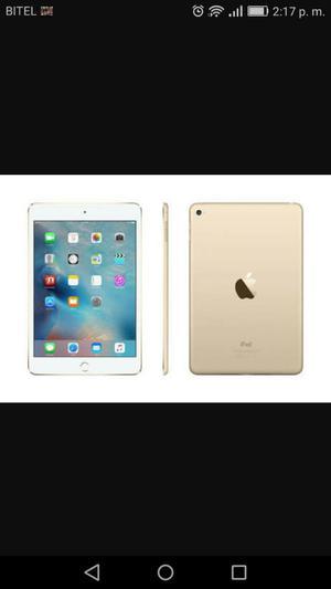 Vendo O Cambio iPad Mini 4 Gold