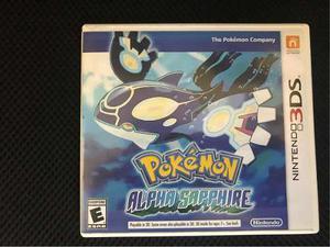 Juego Pokémon Alpha Safiro