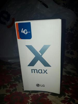 Lg X Max Nuevo Sellado