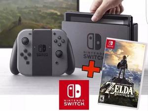 Nintendo Switch +zelda Breath Of The Wild+pro Controller