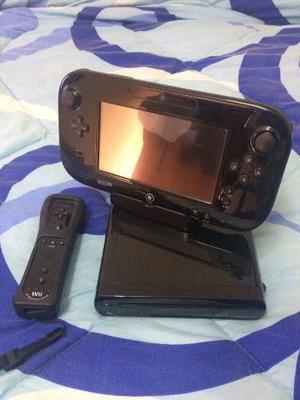 Wiiu 32gb Con Juego + Mando Motion Plus + 5 Juegos