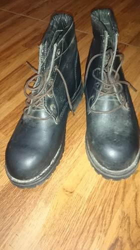 Zapato De Seguridad Usado Talla 39 Color Negro Cant.1