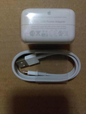 cargador apple original iphone 5s 6 6s plus ipad mini y ipad