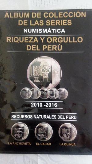 Album de Coleccion Numismatica