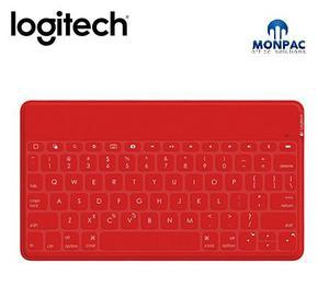 Teclado Logitech Keys-to-go P/ipad/apple Tv Bluetooth Red