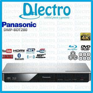 Blu Ray 4k Ultra Hd Smart 3d Panasonic Dmp-bdt280 Sellado
