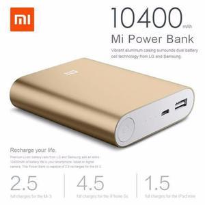 Cargador Portátil Xiaomi  Mah Real Power Bank +usb