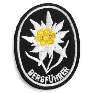 Insignia Edelweiss Guerra Mundial Militaria Soldado Aleman