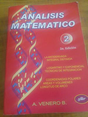 Libro: Analisis Matematico2 Autor:venero