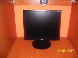 MONITOR LCD LG 17 PULGADAS PARA PC!!!