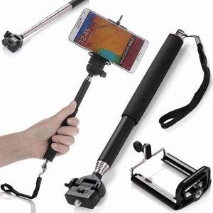 Monopod Para Camaras Digitales Y Filmadoras, Selfie, Gopro