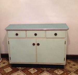 Oferta mueble auxiliar blanco alto cocina posot class for Muebles altos y bajos de cocina