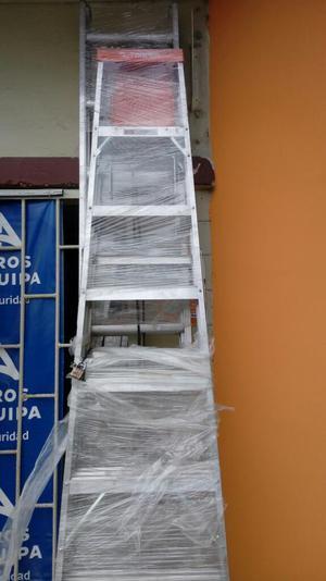 Escaleras telescopicas posot class for Escaleras de aluminio usadas