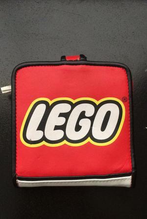 Billetera Marca Lego de Cuero