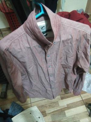 Camisa Rosado Oscuro Talla S Marca Gotcha Remate