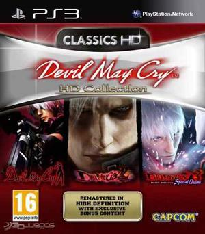 Juego Ps3 - Devil May Cry Hd Collection - Digital