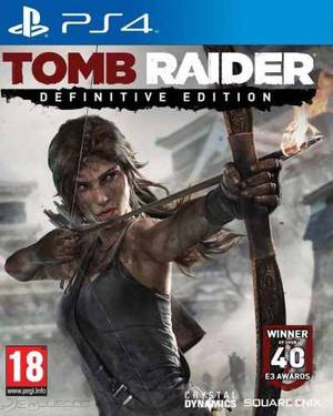 Juego Ps4 - Tomb Raider Definitive Edition - Digital