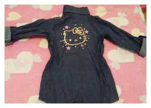 Mini Vestido Hello Kitty