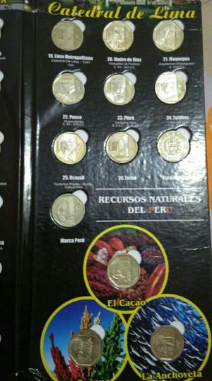 Vendo Album con Monedas de Coleccion