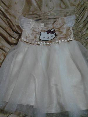 Vestido Hello Kity Talla3