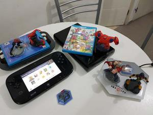Wii U 32gb Nintendo Mario Bross Disney Infinity