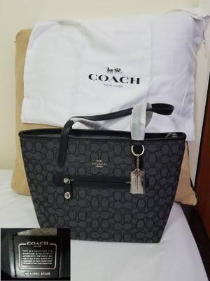 Cartera Coach Original, Con Bolsa Protectora Original