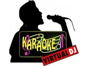KARAOKE mas de  videos para tu virtual dj