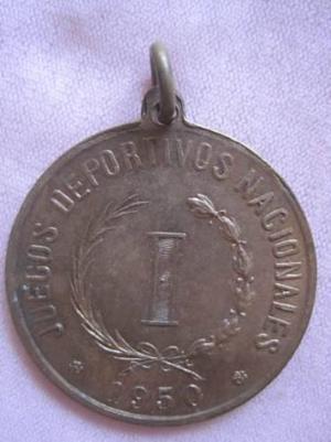 Medalla Juegos Deportivos Nacionales -