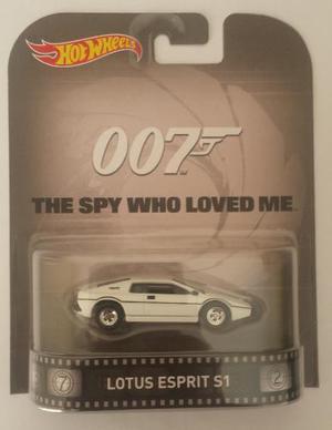 Hot Wheels Retro 007 The Spy Who Loved Me Agente 007 Lotus