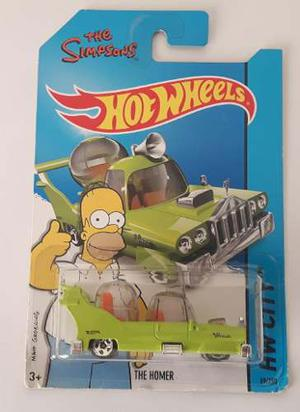 Hot Wheels The Simpsons Coleccion Homero Hw The Homer