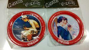 Posavasos Coca Cola Antigua Coleccionables De Metal