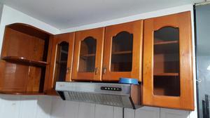 Vendo Juego de Muebles de Cocina de Cedro